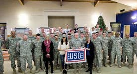 USO celebrates 75 years of supporting America's heroes