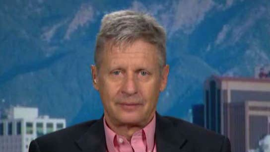 Libertarian Candidate Gary Johnson For Small Gov't and Pot