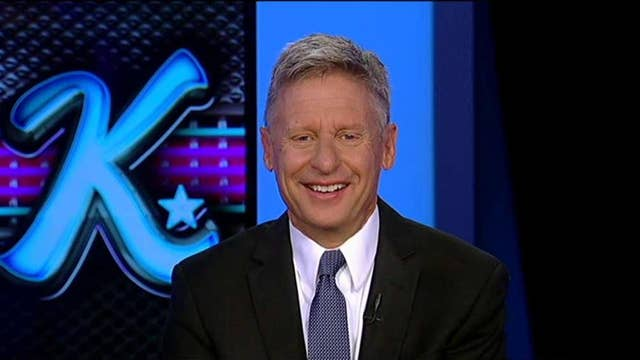 Gary Johnson: Trump's right, I'm a fringe candidate