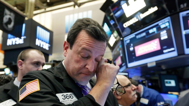 Global tension weighing on Wall Street