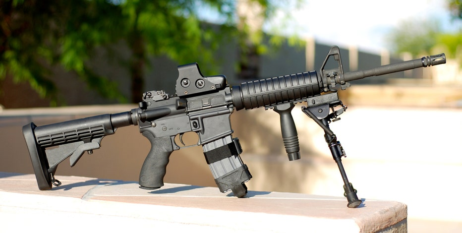 State Rep. Andy Holt (R-TN) plans to give away two AR-15 rifles despite death threats.