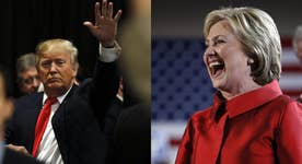 Trump doesn't need as much money to fight Clinton's attack ads?
