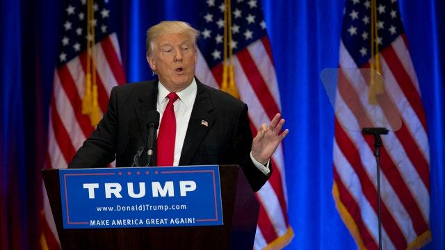 Trump hits back in speech against Clinton