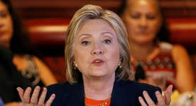 Calendar scandal shakes Clinton campaign
