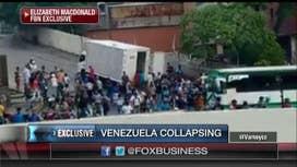 Exclusive video shows civil unrest in Venezuela