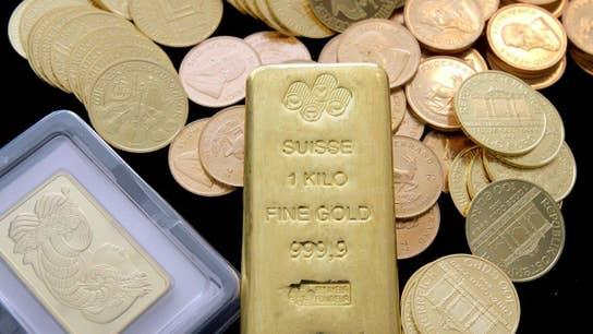 Put your money in gold, Treasuries