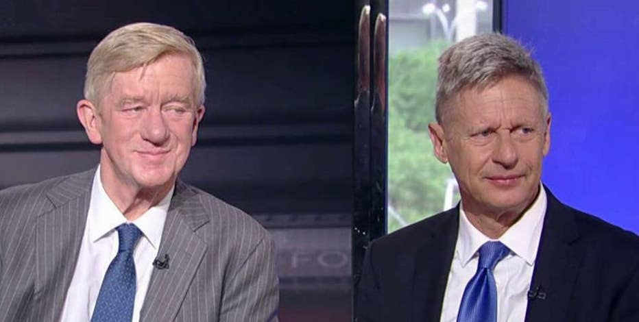 2016 Libertarian presidential nominee former Gov. Gary Johnson (R-NM) and 2016 Libertarian vice-presidential nominee former Gov. Bill Weld (R-MA) discuss their Libertarian political agenda.