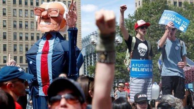 Herman Cain: Sanders protesters feel double betrayed