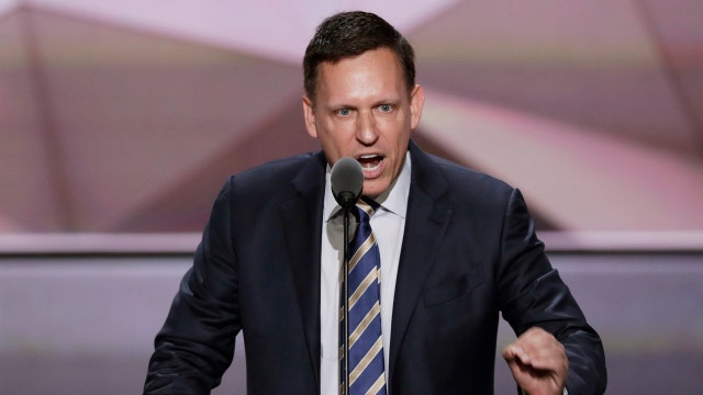 Peter Thiel: Silicon Valley is a bubble compared to rest of America