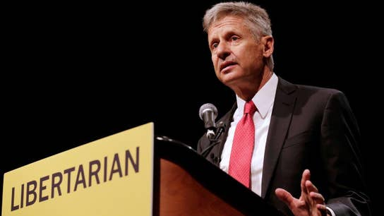 Right Down the Middle: Gary Johnson Sticks to The Issues