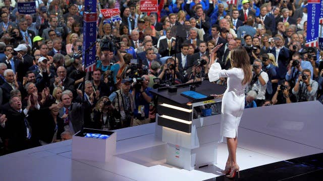 Presidential Historian on Melania Trump: Issue of the speech is serious