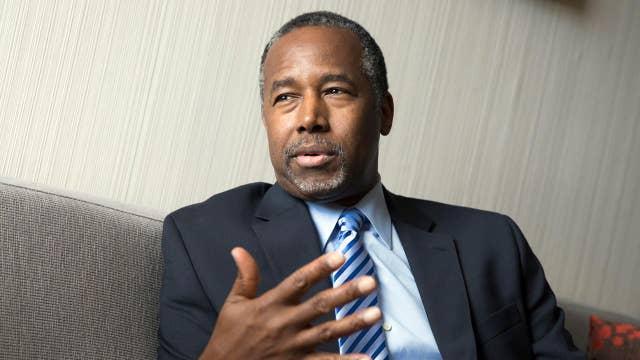 Did Carson's speech cross the line?