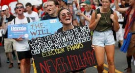 Is mainstream media ignoring DNC protesters?