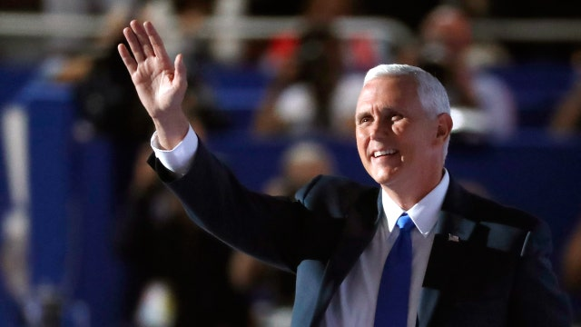 Gov. Mike Pence accepts VP nomination