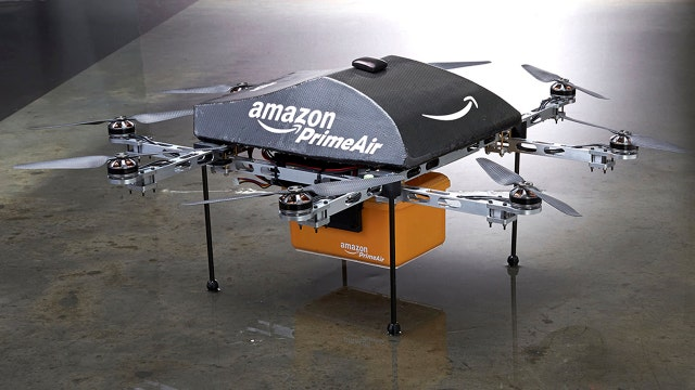 Amazon testing delivery drones in the U.K.