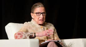 Did Justice Ginsburg cross a line?