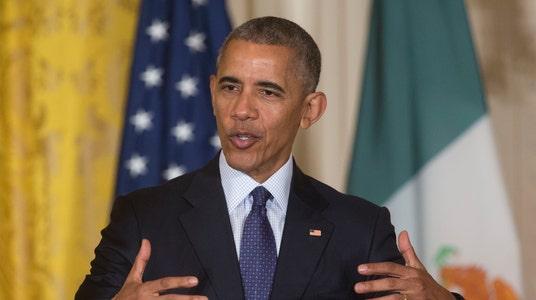 Obama Rebukes Trump's View of U.S. Collapse