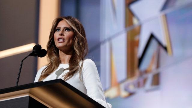 Controversy surrounding Melania Trump's speech?