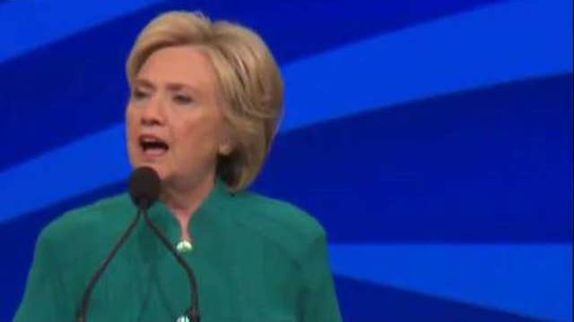 Clinton's media approach during RNC
