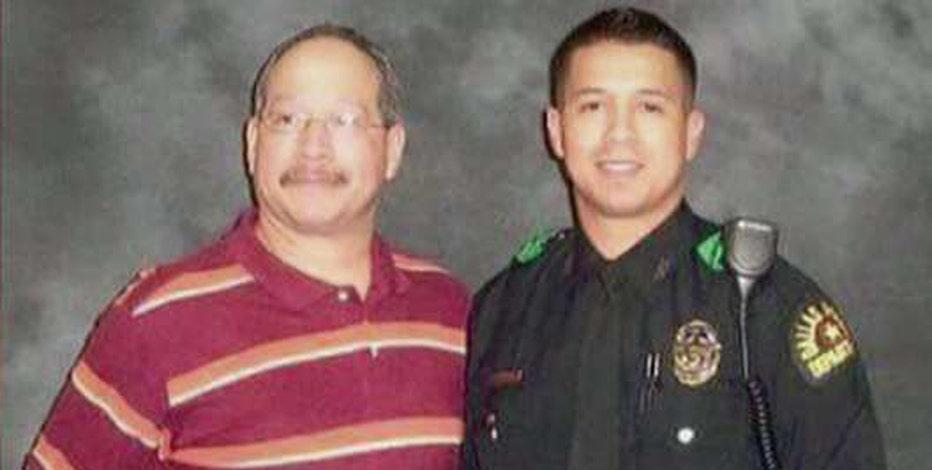Alex Witt, friend of slain Dallas police officer Patrick Zamarripa, on the GoFundMe page to raise money for the Zamarripa family.