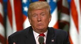 Trump praises GOP unity