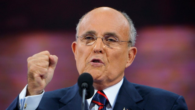 Giuliani: Dissapointed in FBI's Comey