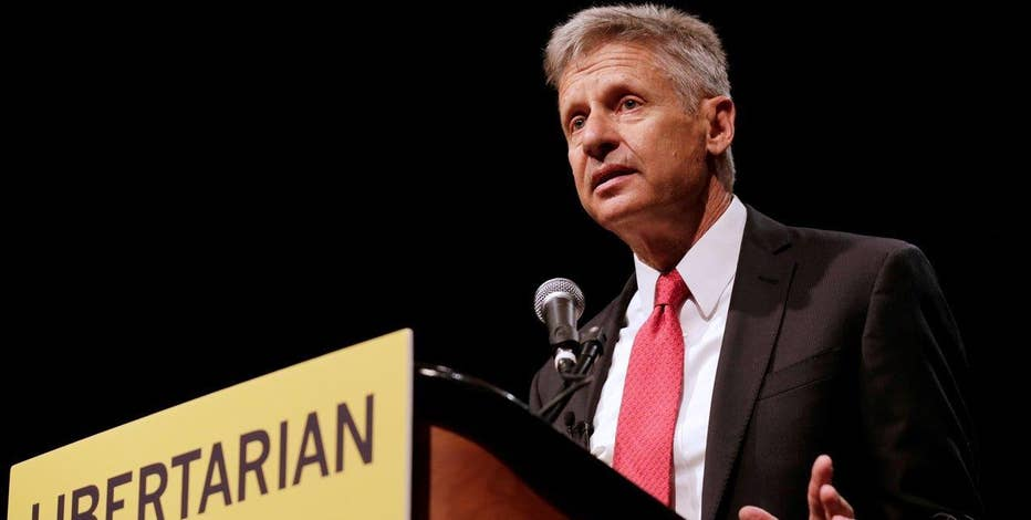 Libertarian presidential nominee Gary Johnson on the 2016 presidential race.