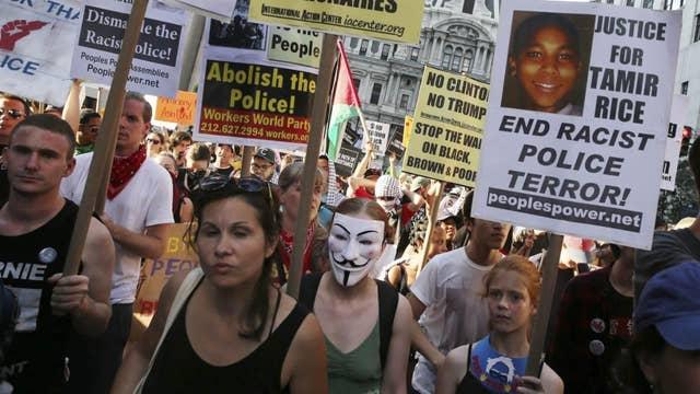 Protests overlap in Philadelphia