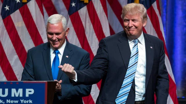 Is Pence already helping the Trump campaign?