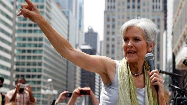 Green Party's Jill Stein rallies Bernie protesters