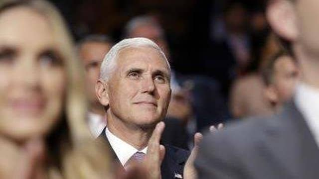 A different side of Pence