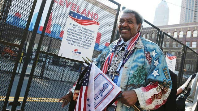 Don King challenges Trump to restore law, order and justice