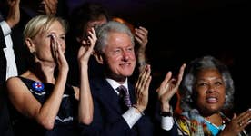Will Bill Clinton help unify the Democrats?