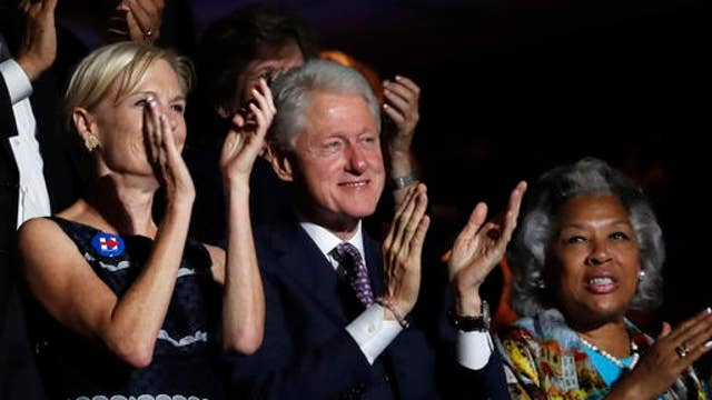 Will Bill Clinton help unify the Democrats?