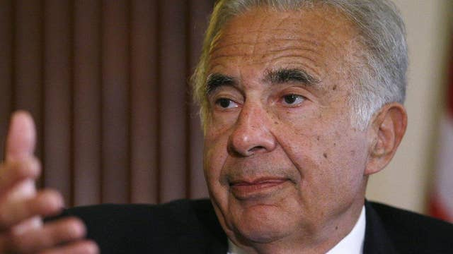 Icahn: The Fed is creating a bubble economy