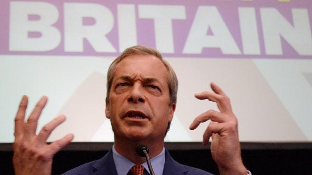 Nigel Farage compares U.S. to the U.K.