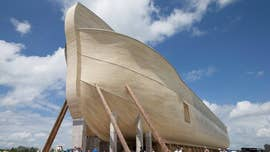 Owners of Noah's Ark replica sue for, yup, rain damage