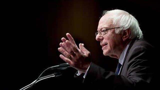 Did Sanders' wife bankrupt a college?