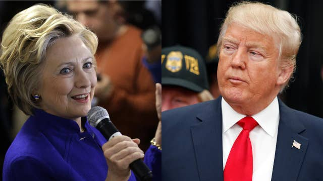 Clinton scandals not helping Trump in the polls?