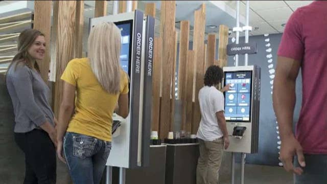 Technology at McDonald's not a jobs killer?