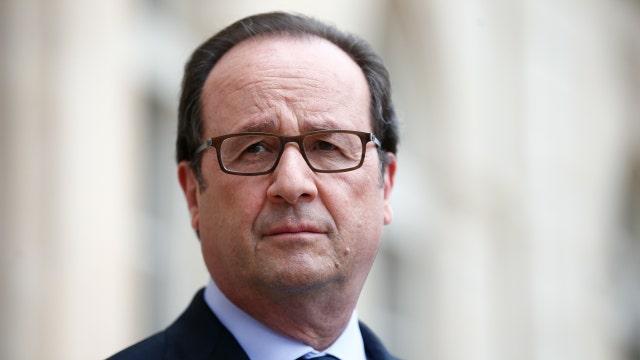 French president slams Trump