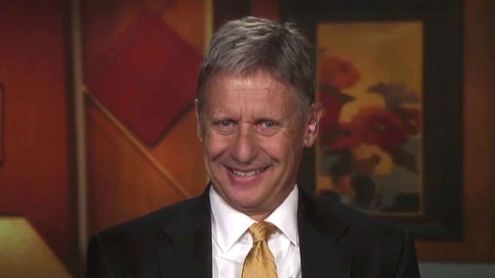 Gary Johnson on free speech, pot