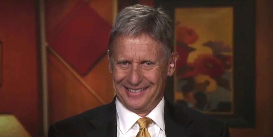 Libertarian presidential candidate and former Governor of New Mexico Gary Johnson on the University of Chicago's 'safe space' and why he stopped smoking pot.