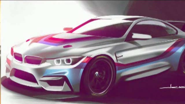You could own a BMW racecar