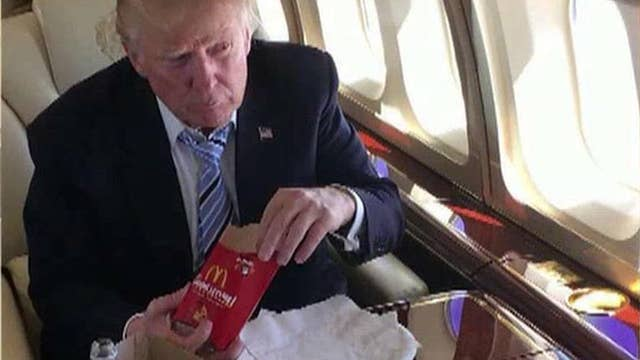 Will Trump's fast food diet win over voters?