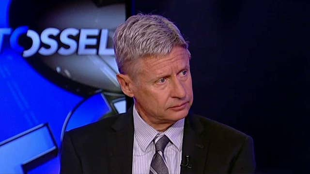 Gary Johnson: We want government out of business