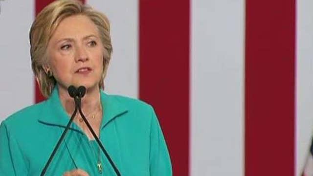 Clinton, Trump slam each other on campaign trail
