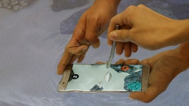 Samsung's newest phone tested in water