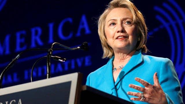 Clinton takes on Trump the businessman