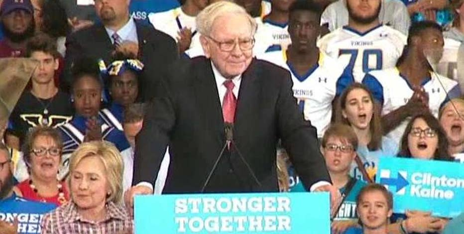Berkshire Hathaway Chairman and CEO Warren Buffett offers Donald Trump a tax return challenge.